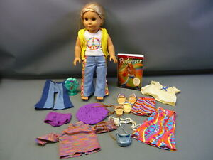 American Girl Doll Julie w/ Book, Clothing & Accessories