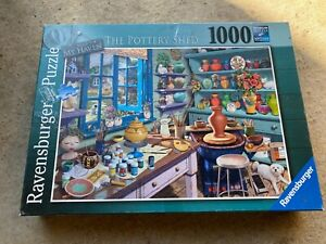 Ravensburger 1000 piece jigsaw puzzle The Pottery Shed