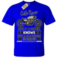 Cafe Racer Only a biker knows funny T-Shirt