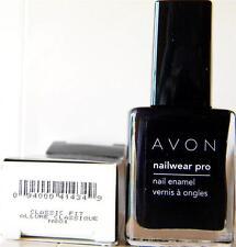 Avon Nailwear Pro Nail Polish Enamel Classic Fit Navy Blue New