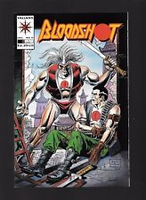 Bloodshot #11 NM Valiant Signed by writer Kevin Vanhook