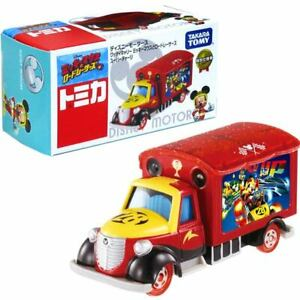 TOMICA Disney Motors Goody Carry Mickey Mouse and Road Racers Supercharge Truck