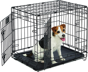 Life Stages LS-1624DD Double Door Folding Crate for Small Dogs11 - 25lbs