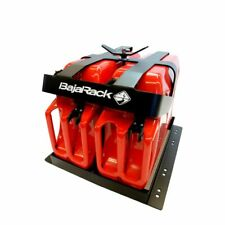 BajaRack Fuel Can Holder Mount for two 5 Gallon Gas Cans
