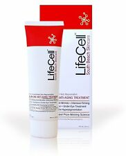 3 x LIFECELL Anti-Aging Cream WITH FREE P&P WORLDWIDE and Bonus 60ml Cleanser