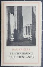 Pausanius. Beschreibung Griechenlands. Artemis. 1954.