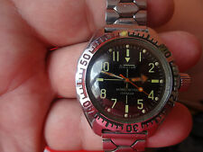 WINTAGE old Russian Soviet watch MILITARY WOSTOK KOMANDIRSKIE-AMPHIBIA -4
