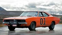 1969 Dodge Charger General Lee Auto Car Art Silk Wall Poster Print 24x36""