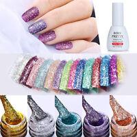 BORN PRETTY 10ml Glitter Nail UV Gel Polish Shining Sequins Nail Art Gel Varnish