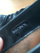 Bronx ladies black boots size 8