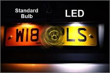 HONDA CIVIC TYPE R EP3 FN2 NUMBER PLATE LED XENON WHITE CANBUS EROR FREE 501 W5W