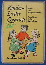 Kinderlieder Quartett - Bilder von Marigard Bantzer - Ravensburger Spiele Nr.152