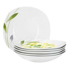 Dessert Kuchenteller Serenade 19cm weiß Dekor Porzellan Geschirr kleiner Teller