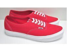 VANS Authentic Lite High Risk Red/True White UltraCush Skate Men's Size 12
