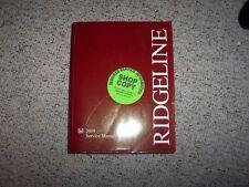 2009 Honda Ridgeline RT RTS RTL Service Shop Repair Manual