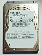 "TOSHIBA 160GB 5400 RPM SATA 2.5"" MK1676GSX  HDD2J96 Laptop Hard Drive HDD"