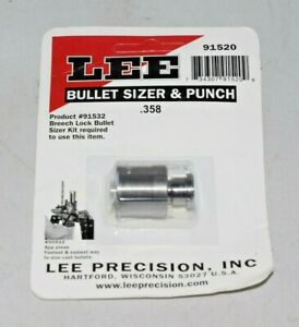 Lee Bullet Sizer and Punch .358 91520