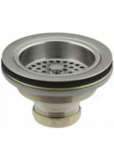 KOHLER K-8799-BN Duostrainer Sink Strainer Vibrant Brushed Nickel