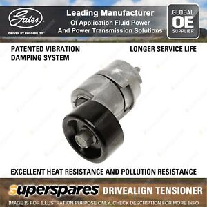 Gates DriveAlign Alternator Tensioner Unit for Kia Cerato TD Cerato Koup TD YD