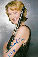 Sabine Meyer signed 8x12 inch photo autograph