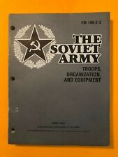 """Field Manual Fm 100-2-3, """"The Soviet Army, Troops, Organization, and Equipment"""""""