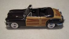 1:24 Danbury Mint 1948 Chrysler Town & Country Woody Convertible Diecast Nice