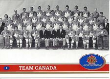 1972 TEAM CANADA 20th Anniversary 101 French Card Set by Future Trends