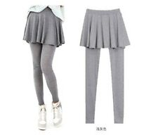 Fashion Korean Pleated Wrinkle Package Hip Leggings Culottes Leave Two Wholesale