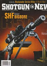 SHOTGUN NEWS Magazine September 2013, THE WORLD'S LARGEST GUN SALES PUBLICATION.