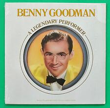 Benny Goodman A Legendary Performer (1977) + Illustrated Booklet SEALED PROMO