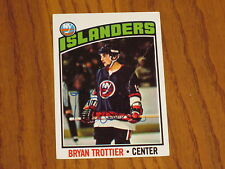 BRYAN TROTTIER AUTOGRAPHED TOPPS ROOKIE CARD