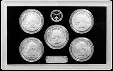 2017-S 225th Anniversary Enhanced Uncirculated Quarter Set (5 Coin Set Only!)
