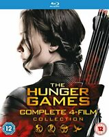 The Hunger Games - Complete Collection [Blu-ray] [2015] [DVD][Region 2]