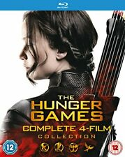 THE HUNGER GAMES COMPLETE 4 FILM COLLECTION - BLU RAY