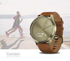 Garmin Vivomove HR Premium Smart Watch GPS HRM Running Fitness Gold Light Brown