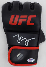 JON BONES JONES AUTOGRAPHED SIGNED UFC FIGHTING GLOVE LH BECKETT BAS 159213
