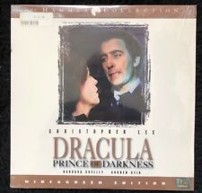 Dracula Prince Of Darkness Hammer Elite WS Laserdisc 1966 Christopher Lee