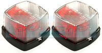 HELLA 883 RED WHITE CLEAR SQUARE SIDE MARKER LAMPS LIGHTS STERLING SWIFT CARAVAN