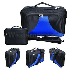 """17.3"""" 17"""" 16.4"""" 15.6"""" Inch Black Blue Laptop Carrying Case Bag Padded"""