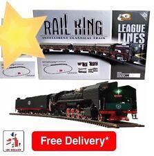 NUOVA linea ferroviaria KING intelligente classica Treno Bambini Bambini Giocattolo Set regalo di Natale