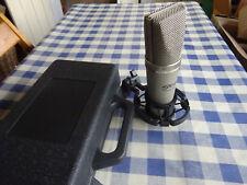 Stagg MCO-7W. Studio Condenser Microphone.