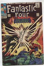 FANTASTIC FOUR #53 (VG/FN)2ND APPEARANCE OFTHE BLACK PANTHER! SIGNED BY SINNOTT!
