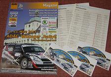 ADAC WIKINGER Rallye 2013 Fanpaket, 4 Aufkleber + Programmheft ++NEU++