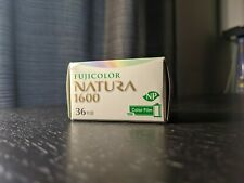 Fujifilm NATURA 1600 Color Negative Film 35mm EXPIRED 10/2019 SINGLE ROLL