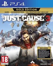 Just Cause 3 Gold Edition PS4 NEW SEALED DISPATCHING TODAY ORDERS BY 2 PM