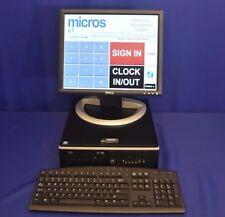 MICROS POS E7 SERVER WITH E7 LICENCE KEY & MANUALS v. 4.00 INCLUDING PROGRAMMING