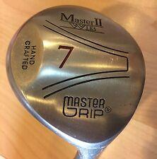 7 Wood Master Grip Master II WB Fairway Golf Club Graphite W Arthritic Grip