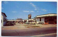 VIRGINIA BEACH VA Atlantic Court Motel old Cars Buick 30th Street e postcard