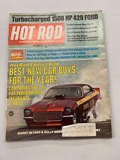 1971 September Hot Rod Magazine Bob Ferro Pinto Dodge Ford Lincoln