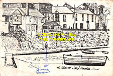 L127316 Cornwall. Mousehole. Lobster Pot Ship. 1976